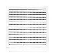 Решетка вентиляционная с регулируемым живым сечением, разъемная 200х200