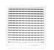 Решетка вентиляционная с регулируемым живым сечением, разъемная 350х350
