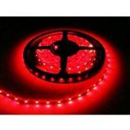 Светодиодная лента в силиконе 3528 12 V 4.8 W 60 LED (диодов) на 1 м красная