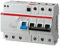 Дифференциальный автомат ABB 4-полюсный DS204 AC-C16/0,03 6модулей
