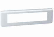 Рамка Legrand Mosaic 10 модулей гориз. алюминий (арт.79010)