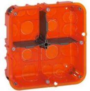 Монтажная коробка Legrand Batibox 2х4/5м.гл.50мм универсальная (Арт. 80124)