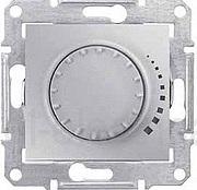 Светорегулятор индуктивный 1000 Вт поворотный Sedna (алюминий)