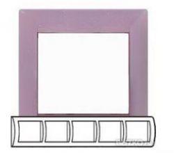 Рамка Legrand Valena 5 постов горизонтальная Виола(арт.770055)