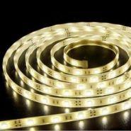 Светодиодная лента в силиконе 5050 12 V 7.2 W 30 LED (диодов) на 1 м белая-теплая