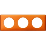 Legrand Celiane2 Рамка на 3 поста, оранж пунктум