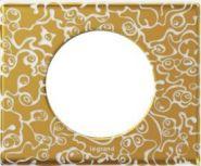 Рамка Legrand Celiane 1 пост фарфор Золотая Феерия (арт.69331)