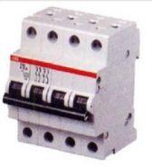 Автоматический выключатель ABB 4-полюсный S204 C25 6kA