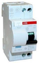 Дифференциальный автомат ABB 2-полюсный DS941 C25 30MA тип АС