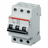 Автоматический выключатель ABB 3-полюсный SH203L C25 4.5kA