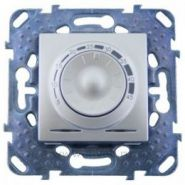Терморегулятор Unica для теплых полов с датчиком пола белый