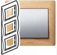 Рамка Legrand Galea Life 3 поста верт. Maple(арт.771967)